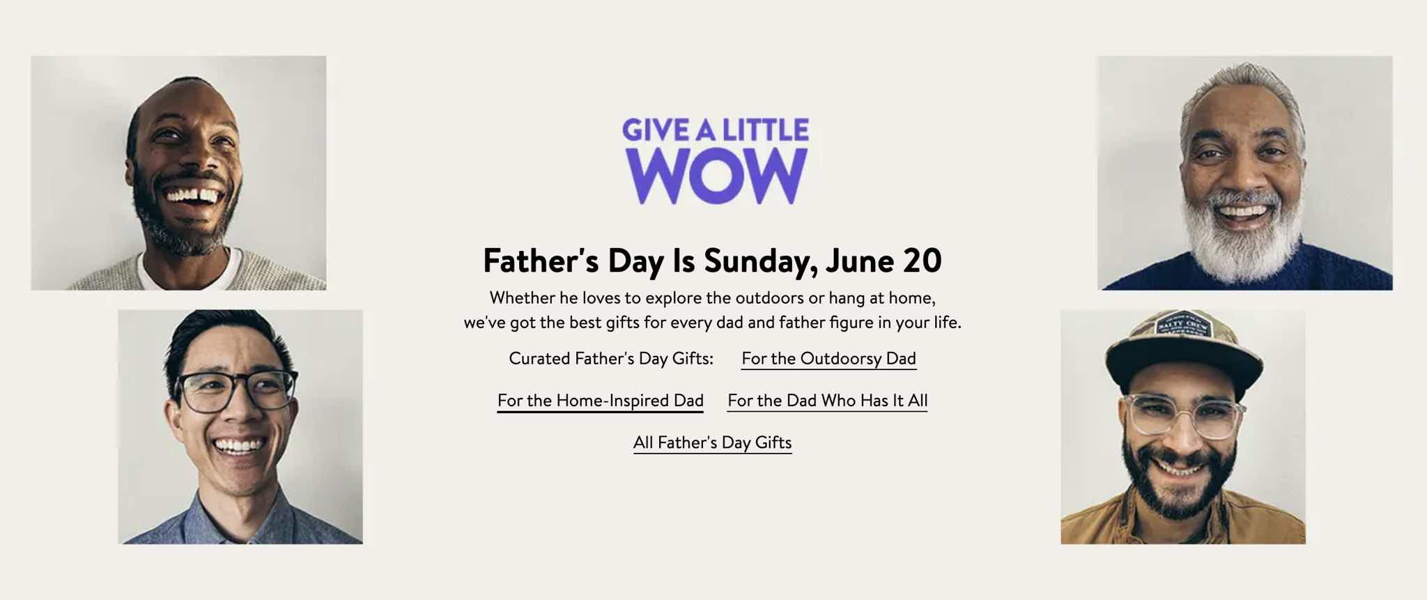 Nordstrom Fathers Day Promo