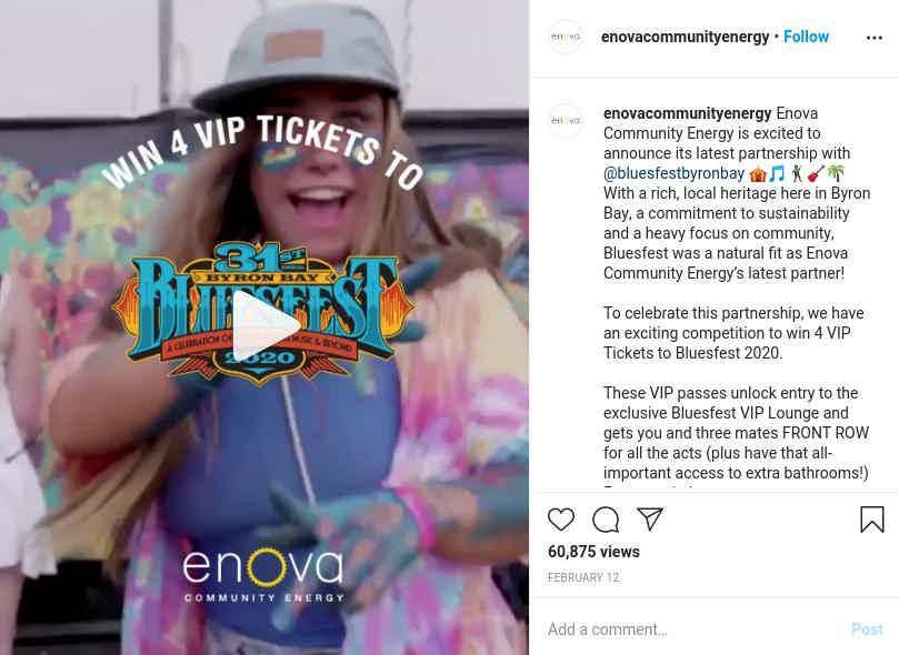 Enova Giveaway