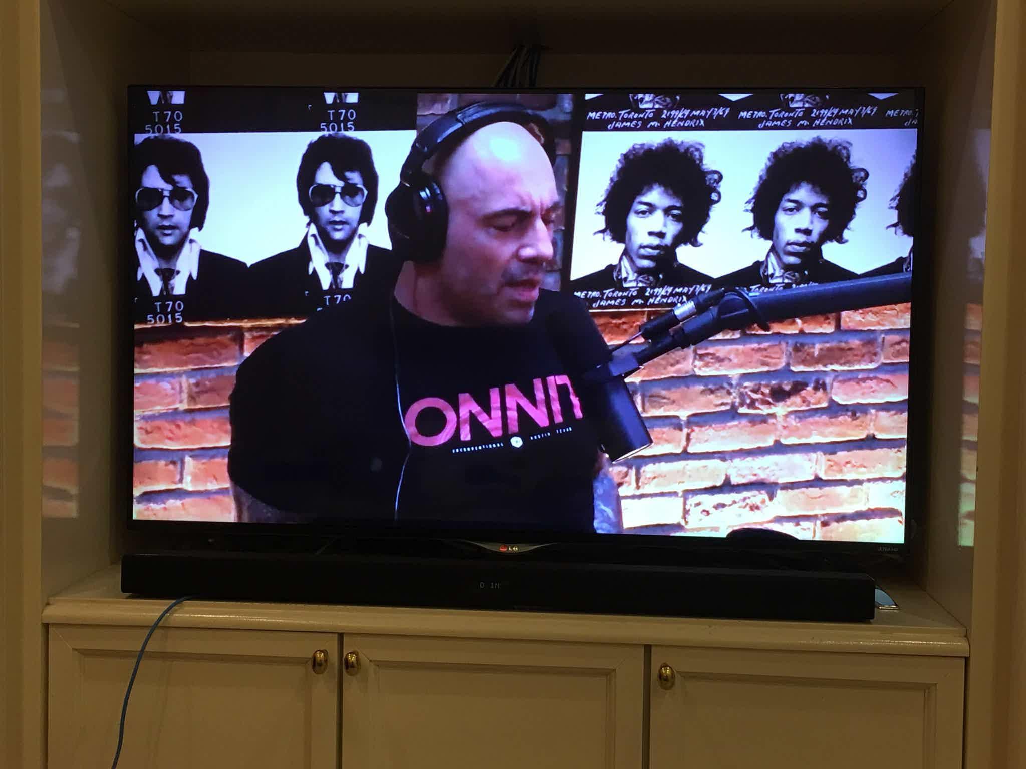 Joe Rogan on Smart TV