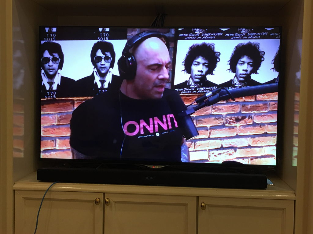 Joe Rogan on Smart TV