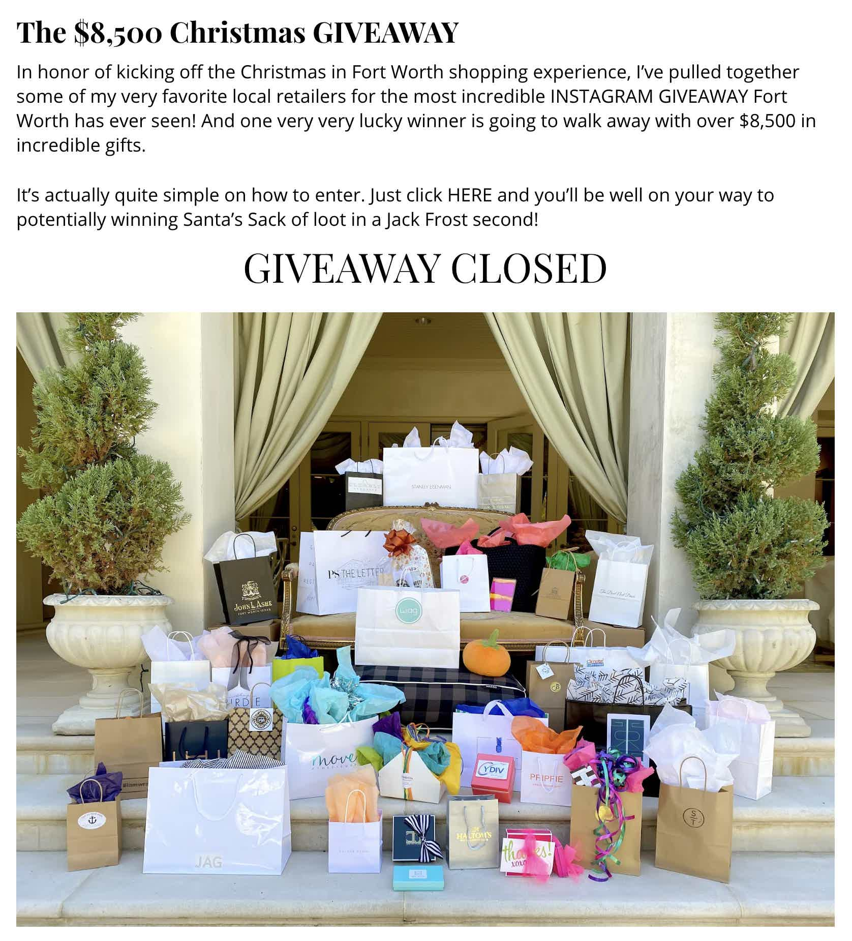 So Fort Worth It Giveaway