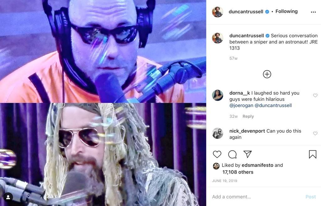 Duncan Trussell Instagram
