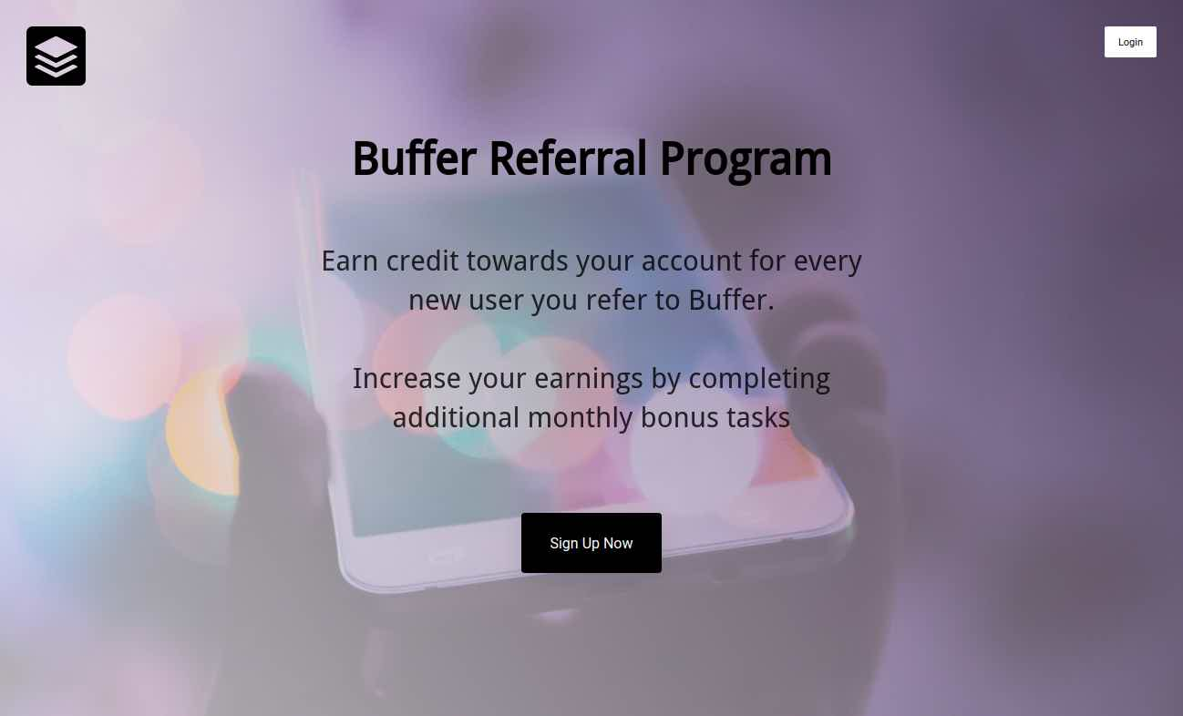 Buffer referral program VYPER Design