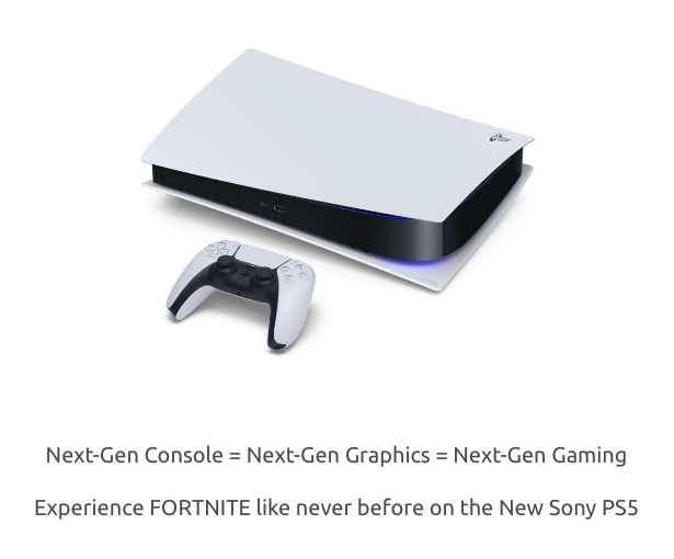 Sony PS5 Prize