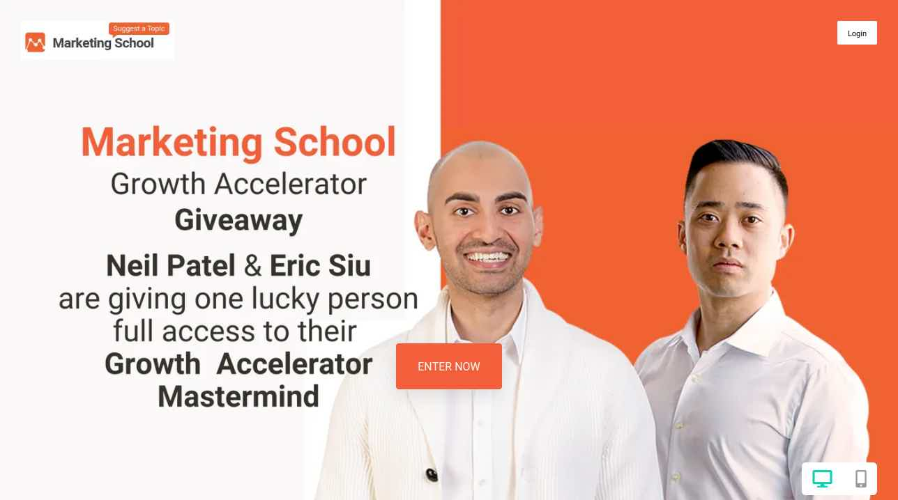 Marketing School Giveaway VYPER