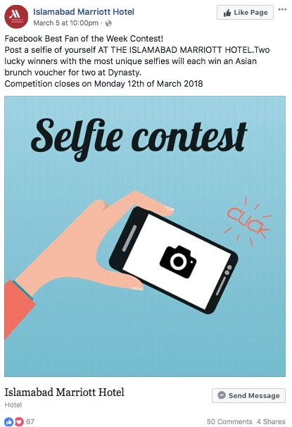 Facebook Fan contest