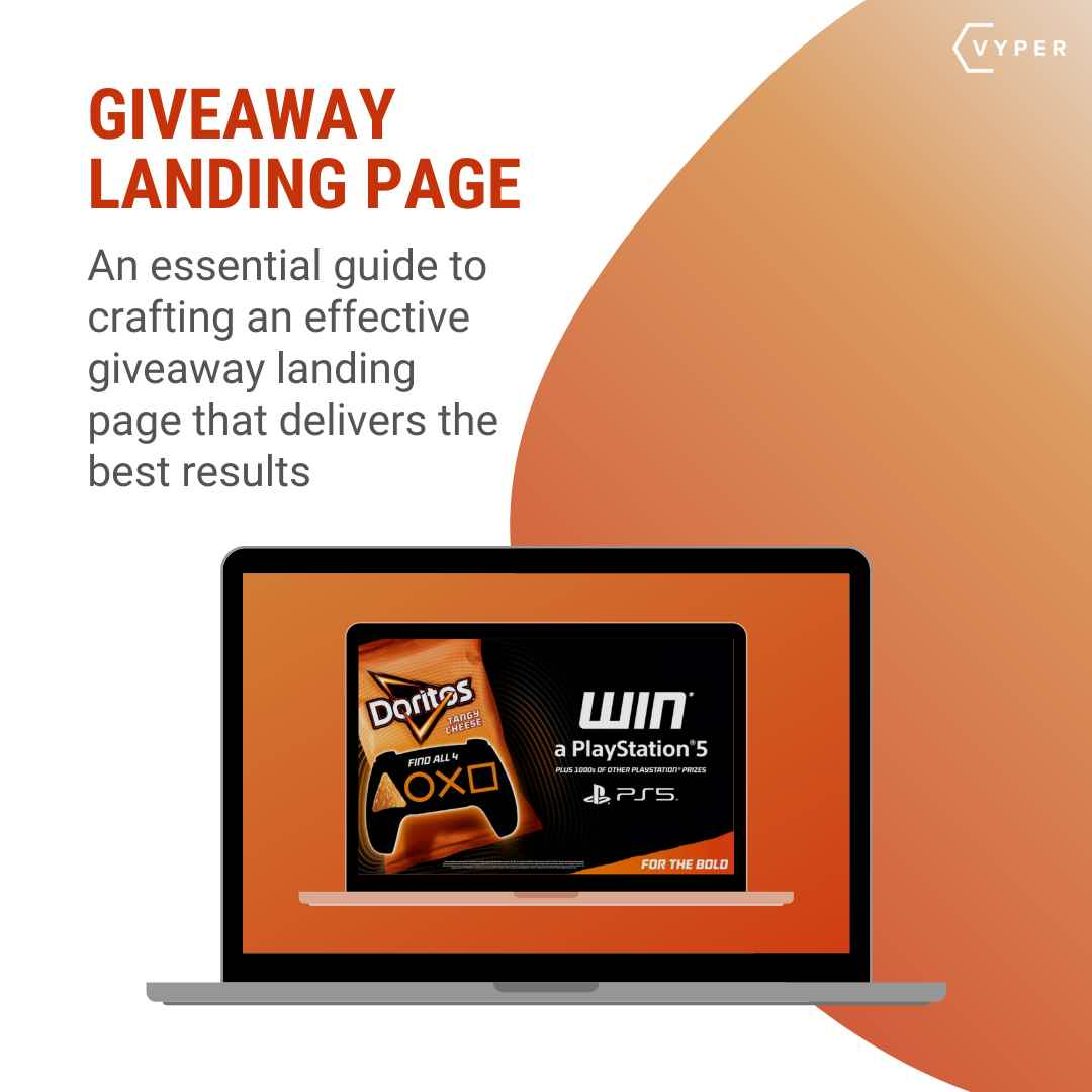 Giveaway Landing Page