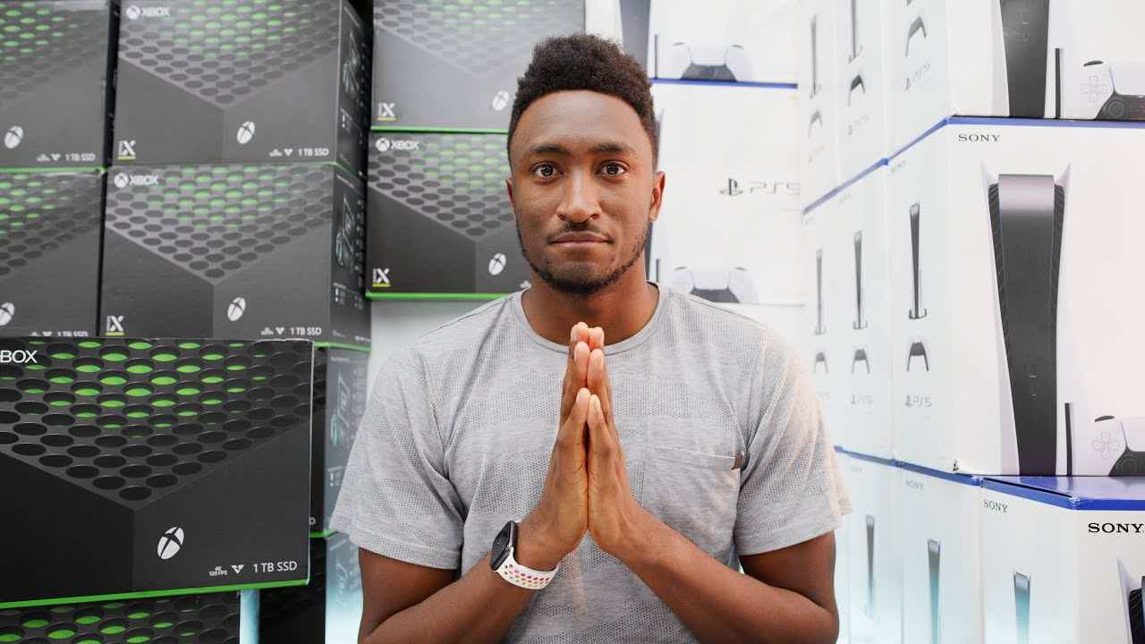 MKBHD PS5 XBOX Giveaway