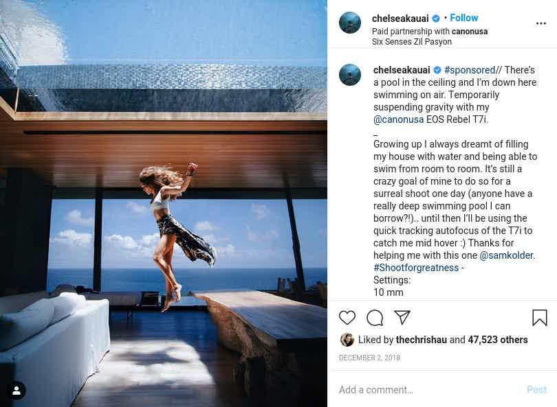 Instagram Chelsea Kauai