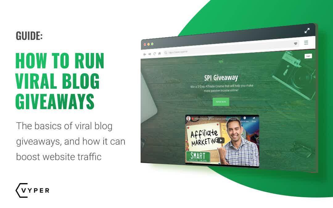 viral blog giveaways