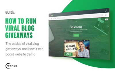 How to Run Viral Blog Giveaways