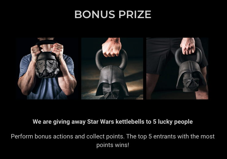 Onnit Bonus Prizes