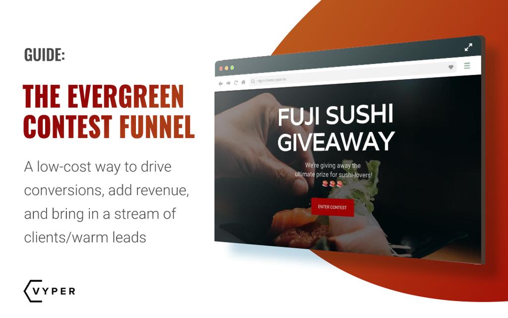 evergreen contest funnel
