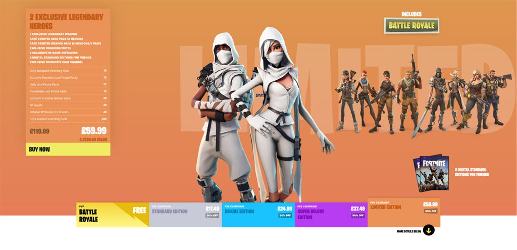 Fortnite Giveaway Founders Pack