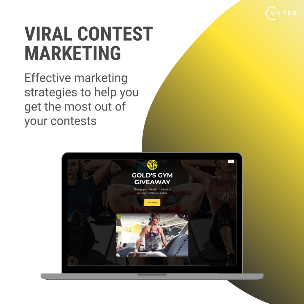 Viral contest marketing
