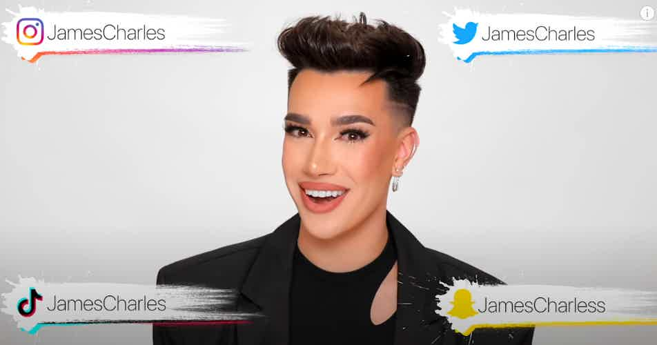 James Charles $100000 Giveaway