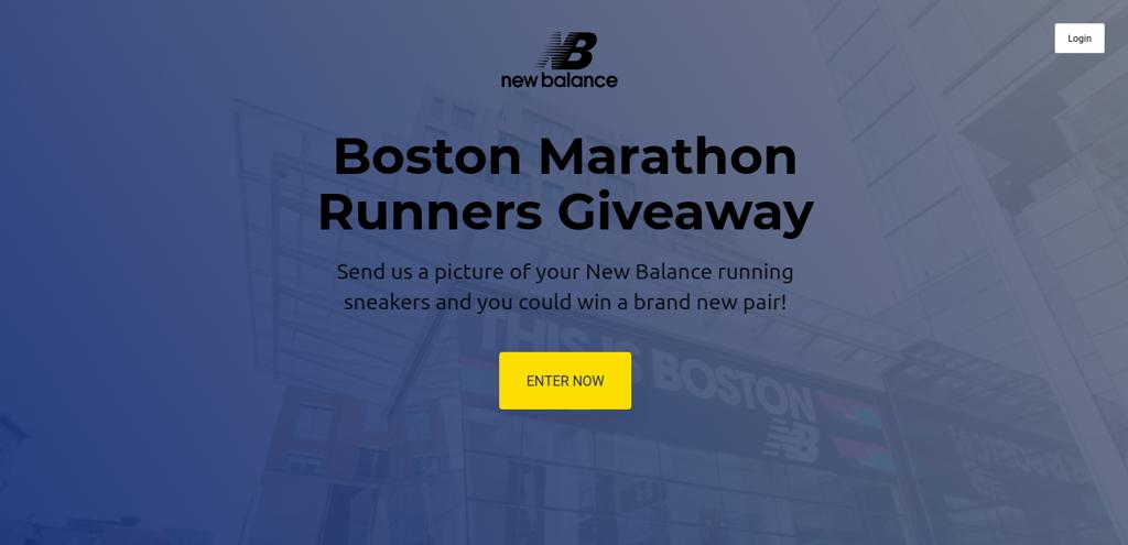 Boston Marathon giveaway