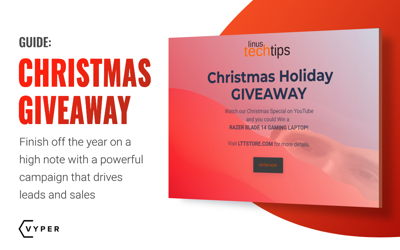 Christmas Giveaway and Marketing Ideas