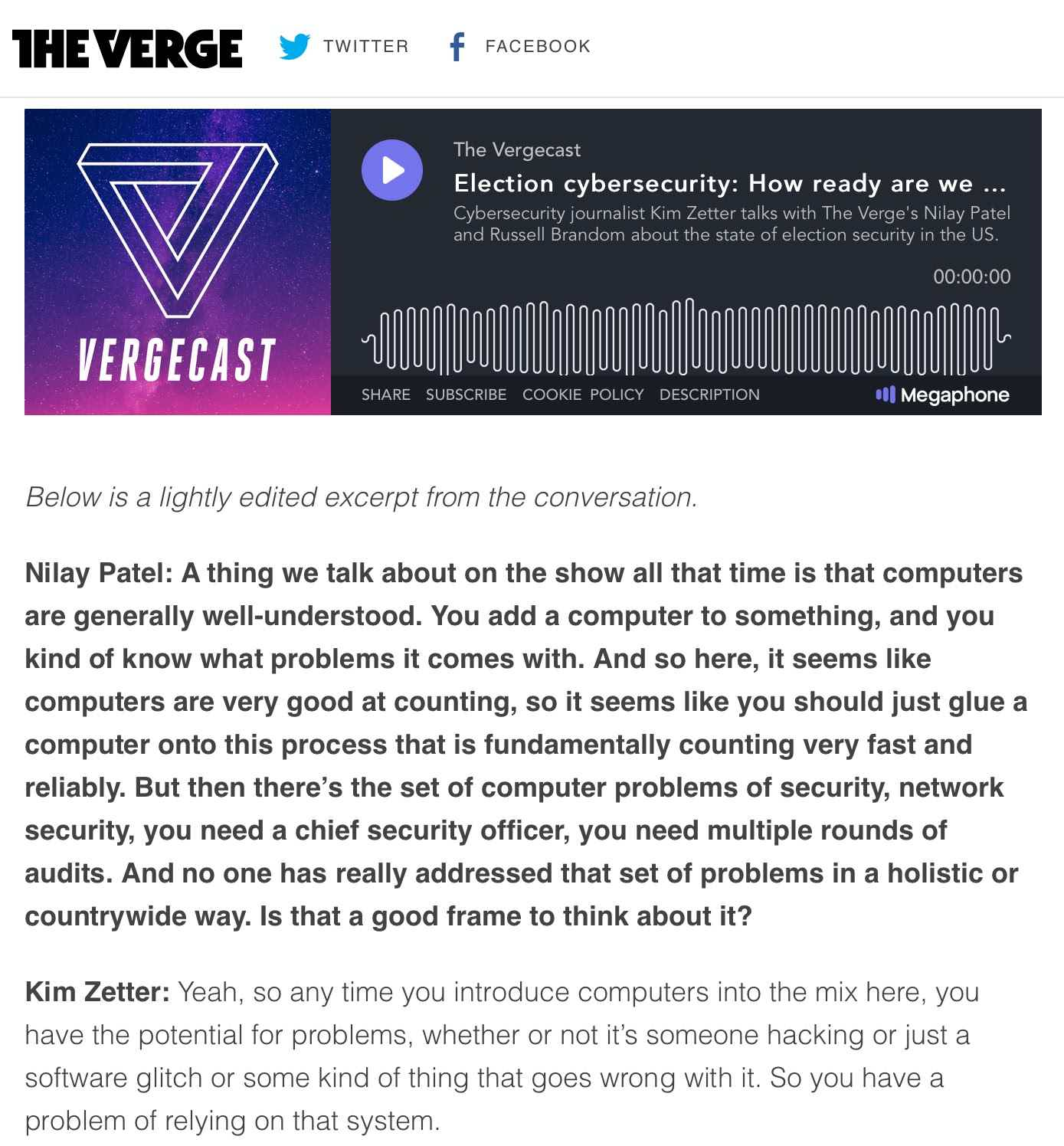 The Verge Transcribed Podcast Blog Post