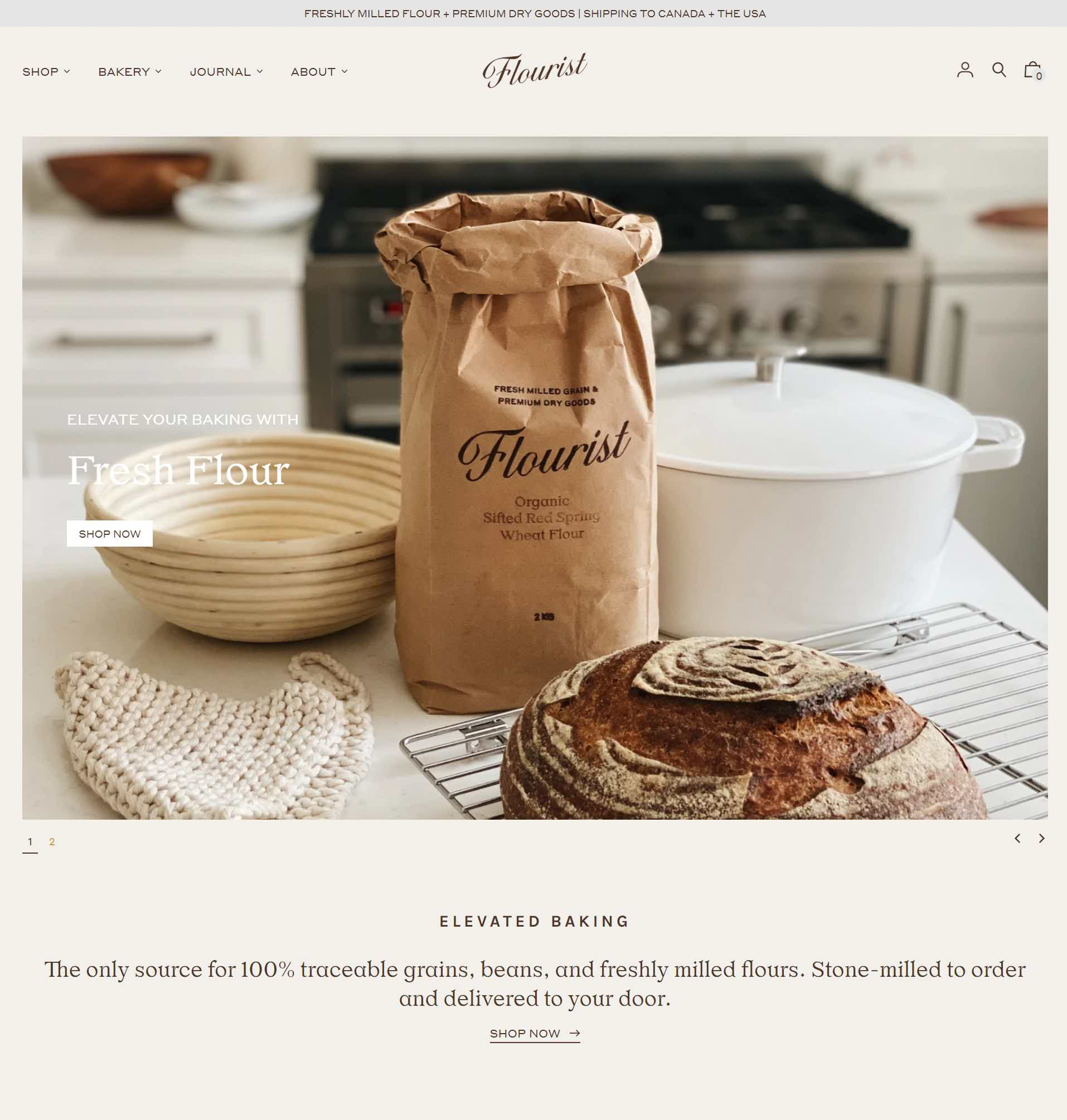 Flourist Website