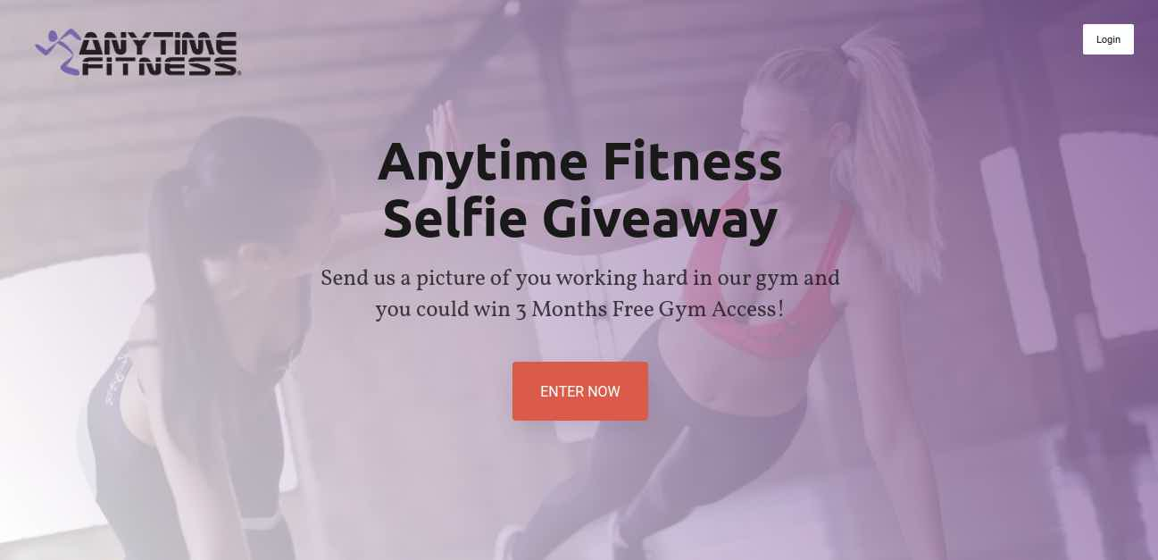 Anytime Fitness Giveaway