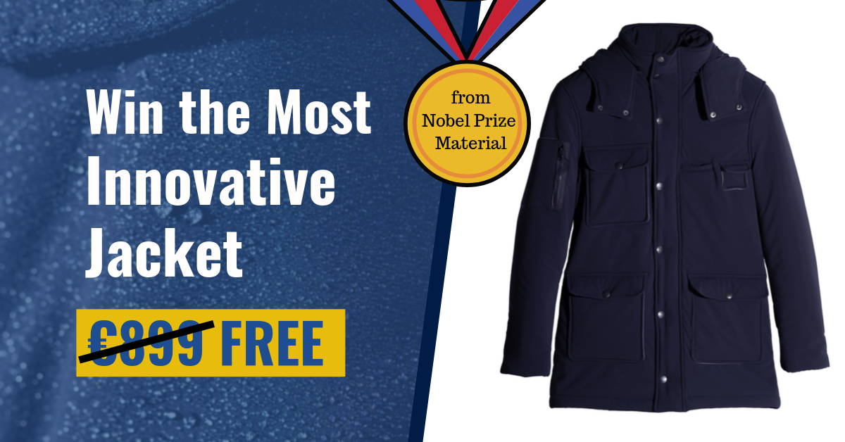 Enter to win the Most Innovative Jacket (made of a Nobel Prize Winning material 🤯)
