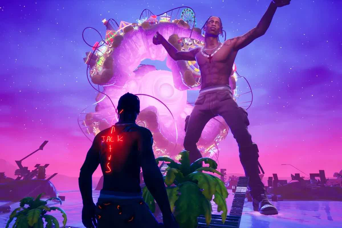 Travis Scott Astronomical Event Fortnite