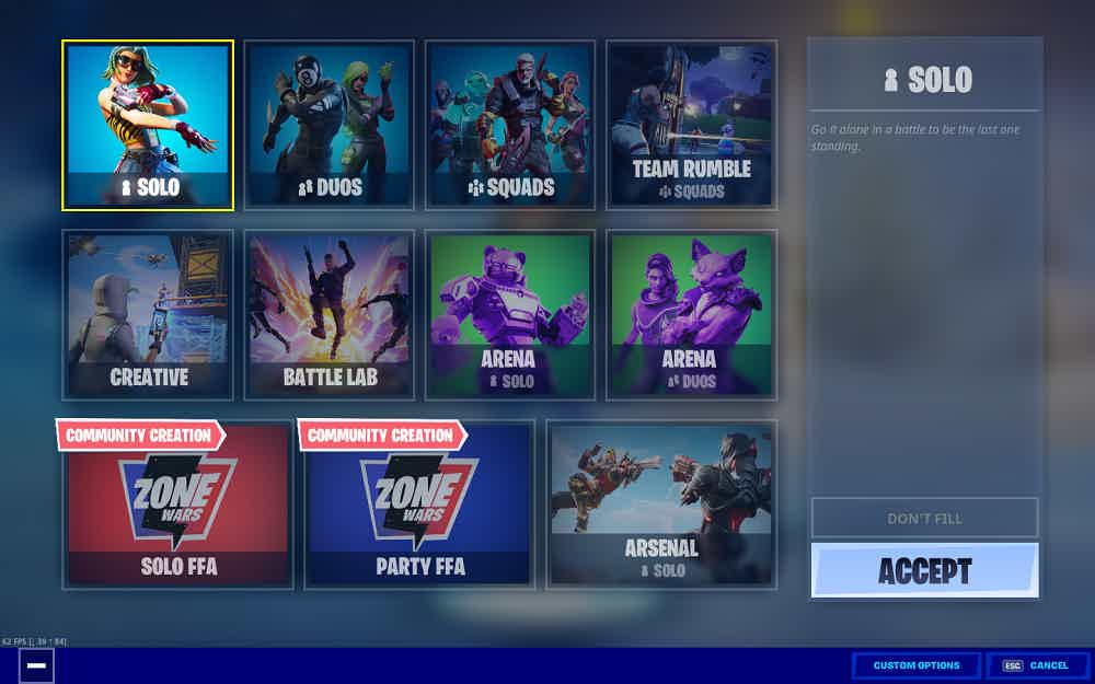 Fortnite Game Modes