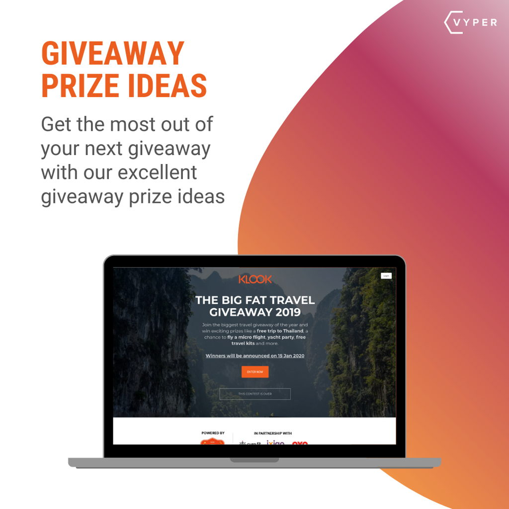 Giveaway Prize Ideas
