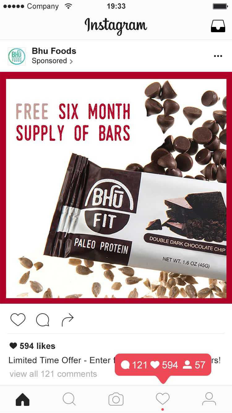 BHU Foods Contest Sponsored Post