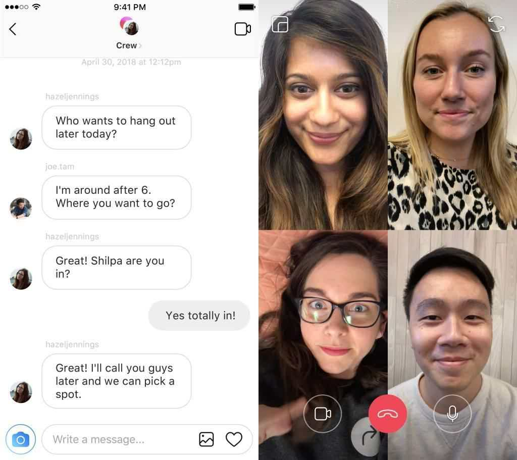 Video Calling Direct Messages