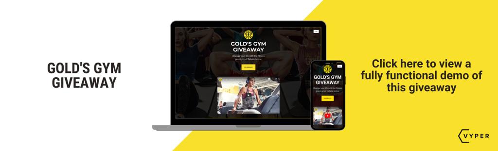 VYPER Gym giveaway Demo