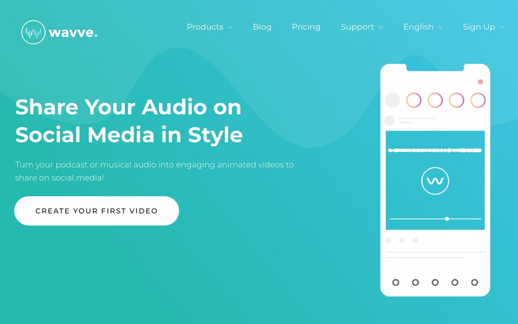 Wavve Podcast Video Service