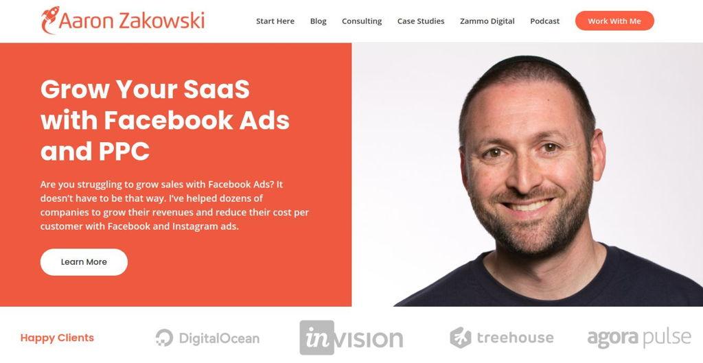Aaron Zakowski Website