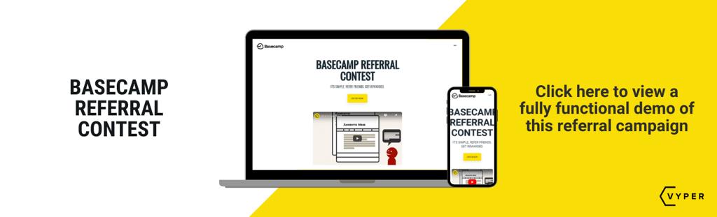 Basecamp referral program VYPER
