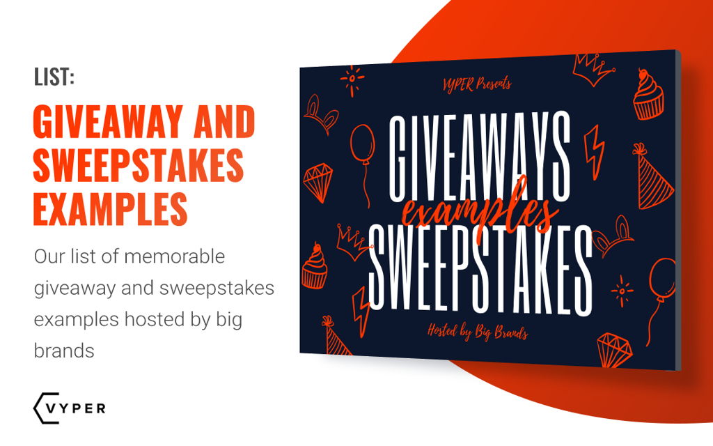 sweepstakes examples