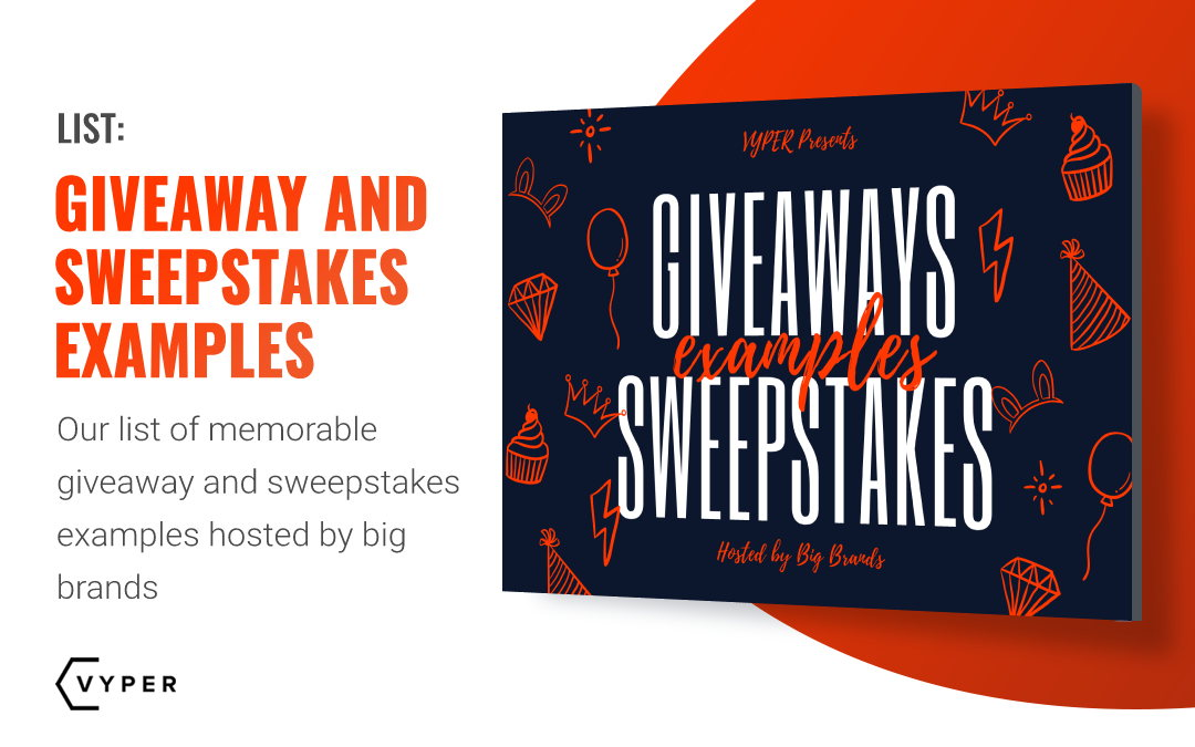 7 Giveaway and Sweepstakes Examples Hosted by Massive Brands That Generated Millions