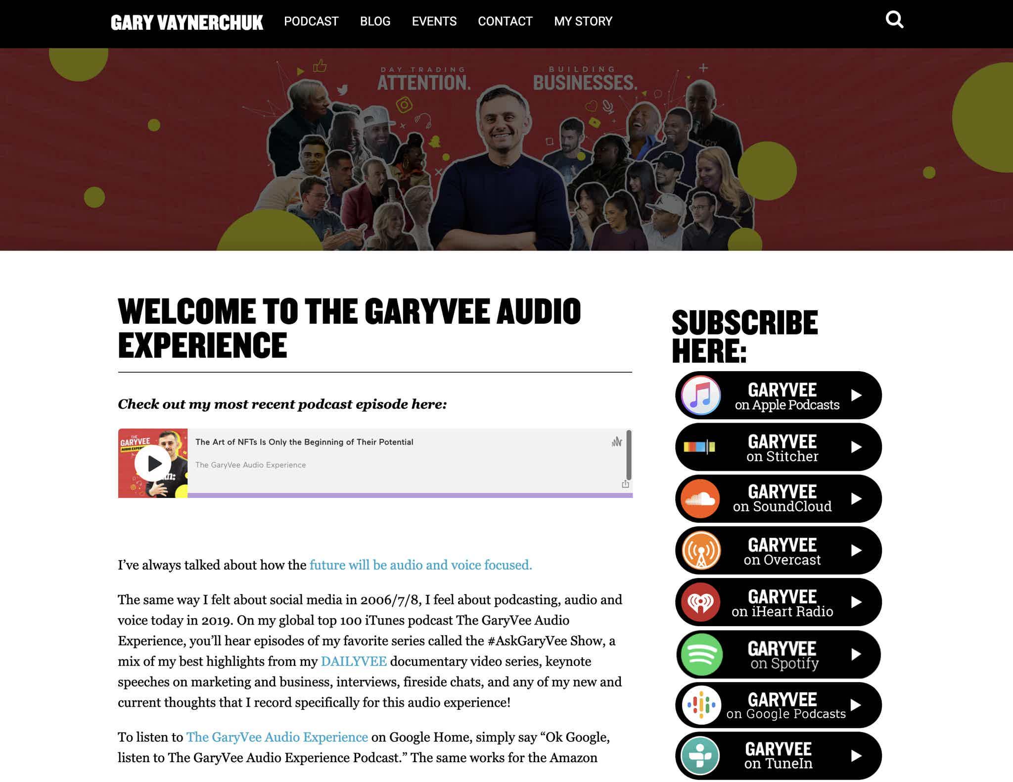 The Gary Vee Audio Experience