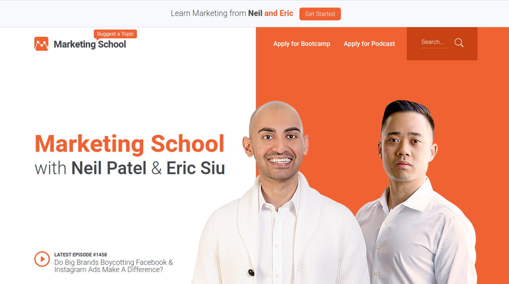 Marketing School Podcast Blog