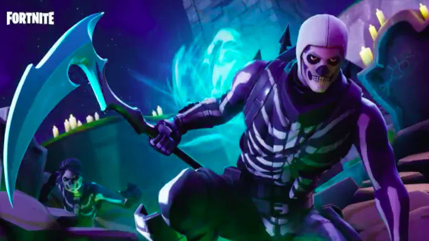 Fortnite Skull Trooper Skin