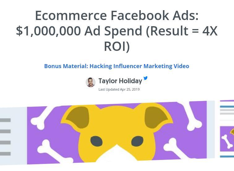Pupsocks Facebook Study