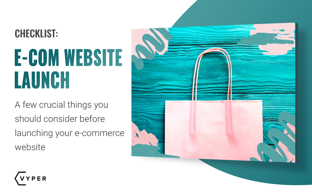 Launching an e-commerce Website