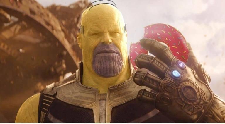 Thanos viral homer pic