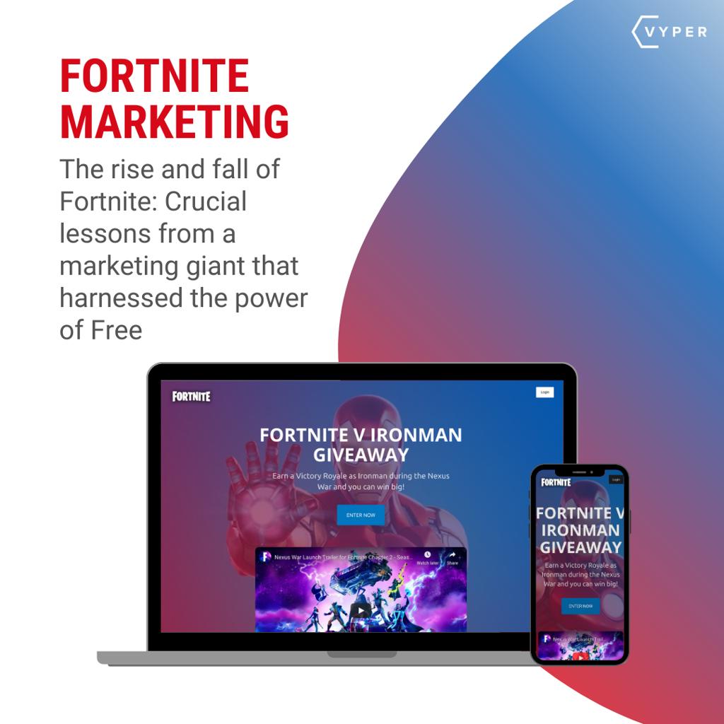 Fortnite Giveaway Marketing