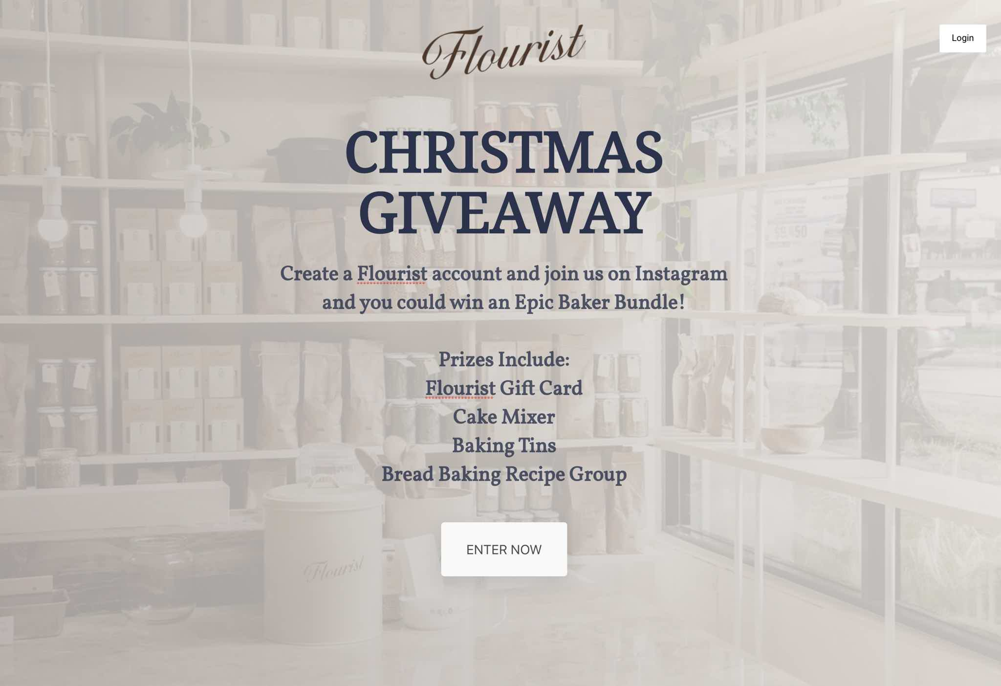 Flourist Christmas Giveaway VYPER