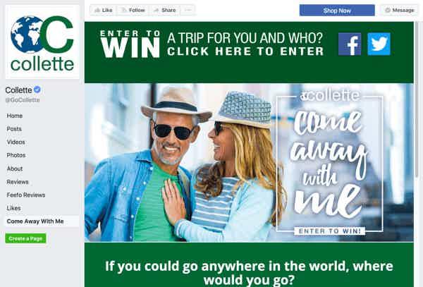 Collette Facebook Contest
