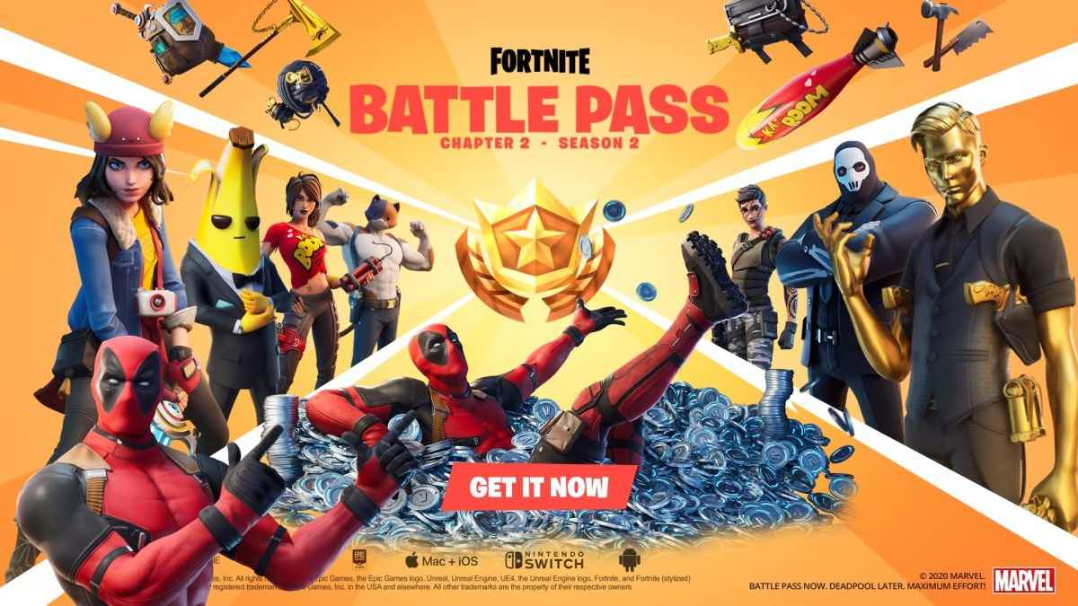 Fortnite Deadpool Battle Pass