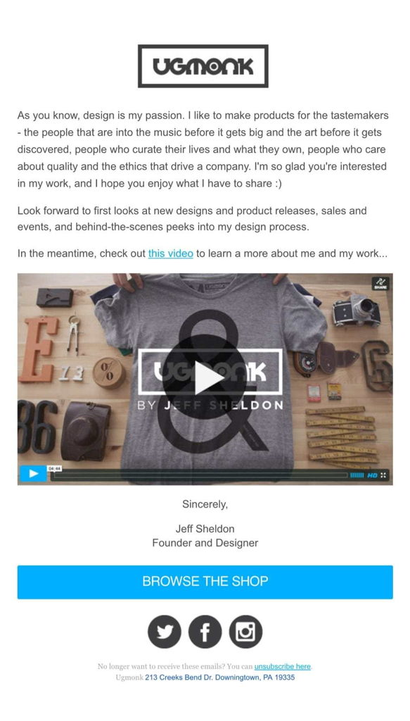 welcome-email-example-ugmonk