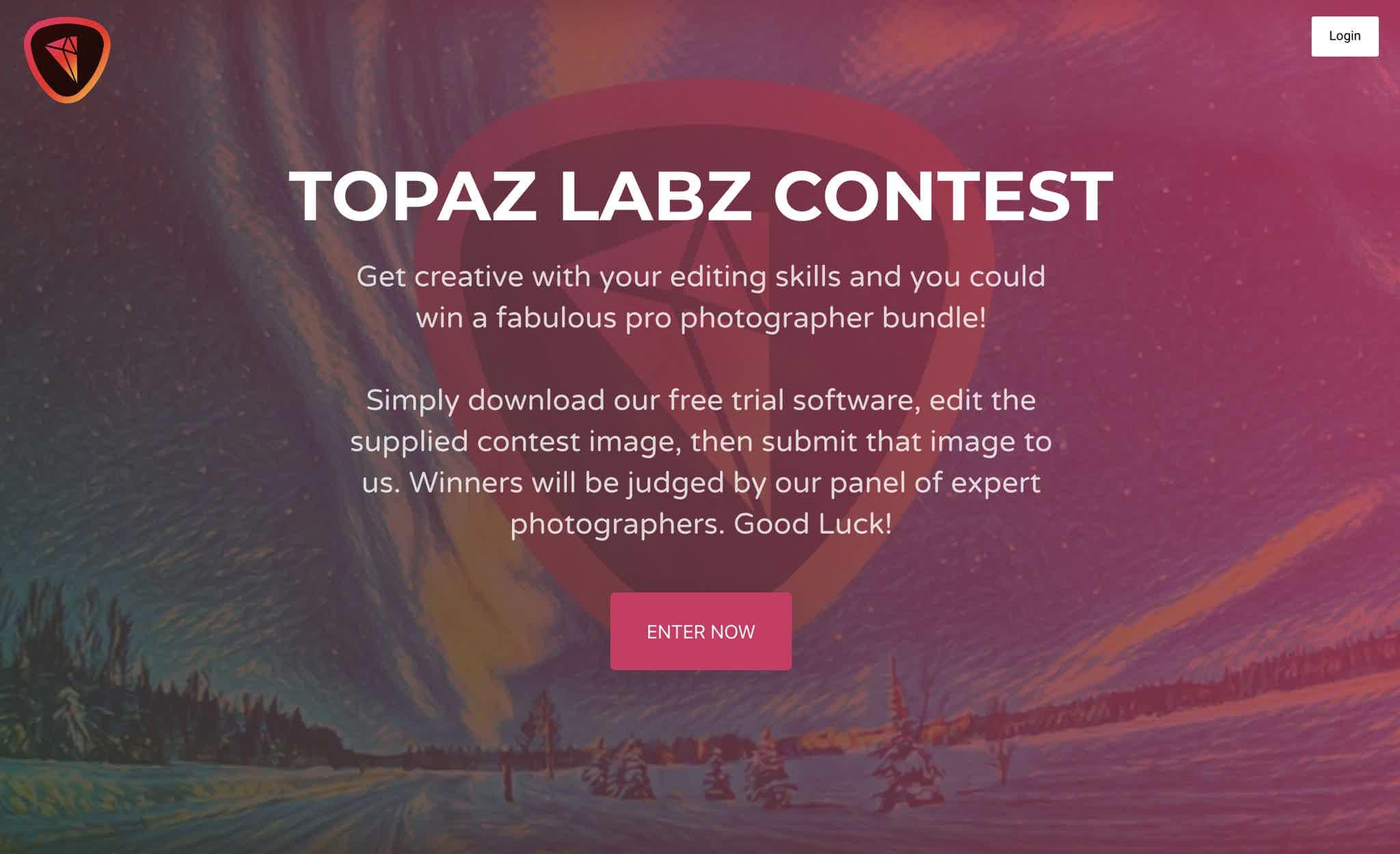 Topaz Labs Demo Giveaway