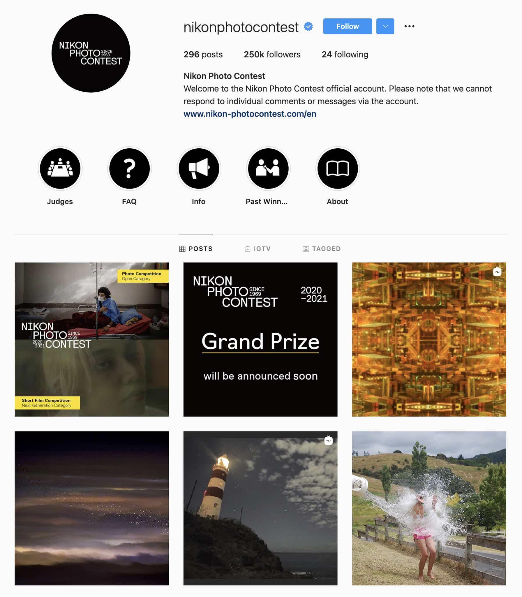 Nikon Photo Contest Instagram